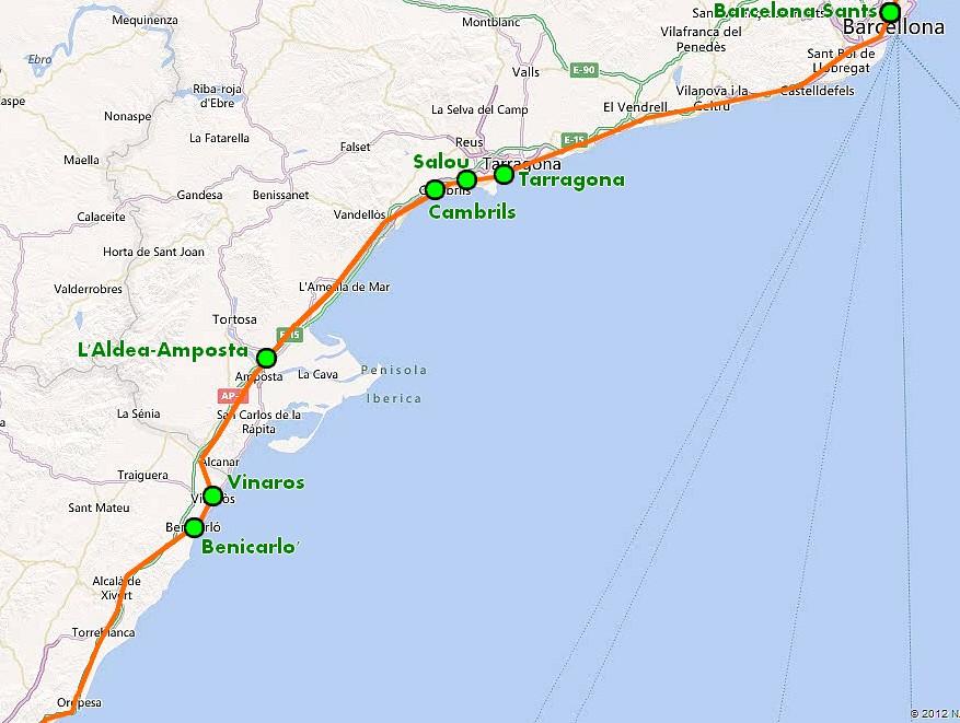 Mare nostrum montpellier cartagena da barcelona a for Alberghi barcellona sul mare